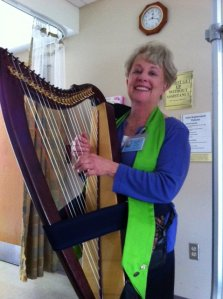 Bloom & Grow Featuring an interview with hospital certified harp therapist, Brenda Hart
